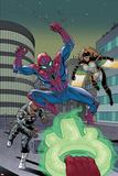 The Amazing Spider-Man No 9 Cover Featuring Nick Fury  Spider-Man  Mockingbird