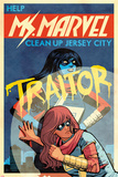 Ms Marvel No3 Cover  Featuring Ms Marvel (Kamala Khan)