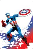 Captain America: Sam Wilson No 7 Cover Featuring Captain America