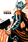 Mighty Thor No 4 Cover Featuring Thor (Female)