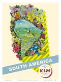 South America - Rio De Janeiro  Brazil - KLM Royal Dutch Airlines