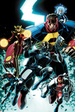 Thunderbolts No 3 Cover Art Featuring: Moonstone  Atlas  Kobik  Winter Soldier  Mach-X  Fixer
