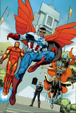Avengers Standoff: Assault On Pleasant Hill Alpha No 1 Cover Featuring Iron Man and More