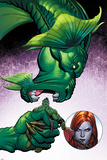 Totally Awesome Hulk No3 Panel  Featuring Fin Fang Foom  Totally Awesome Hulk and Lady Hellbender