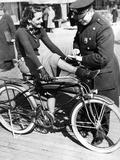 Traffic Control in New York  1938