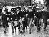 Students from Orley Farm School in London  1938