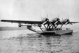 Flying Boat Dornier Do 24 Near Friedrichshafen  1937