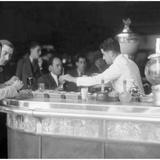 Cafe in Barcelona  1930