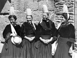 Women in Breton Costume  Ca 1930's