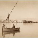 Suez Harbor  1895