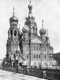 Cathedral of the Resurrection of Christin Saint Petersburg  1910s