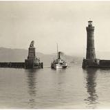 Lighthouse of Lindau  1913
