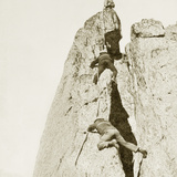 Climbers on the Mont Blanc  1908