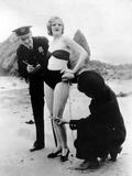 Peggy Graves on the Beach  1933