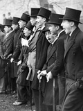 Westminster School Students Cheering for their Football Team in London  1931