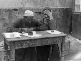 Street Letter Writer in Cairo  1925