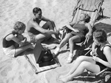 Bathers Listening to Music  1938