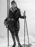 Fashion for Female Skiers  1930