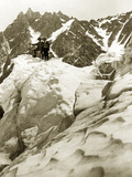 Expedition on the Mont Blanc  1911