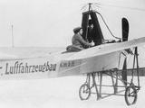 Actress Tilla Durieux in Flying School  1911