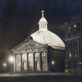 St Hedwig's Cathedral in Berlin at Night  1930