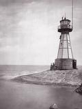The Lighthouse of Neufahrwasser  1900