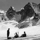 Alpinists in Switzerland  1939