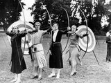 Archeresses Practicing at the Ranelagh Club in London  1933