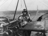 Female Aviator Nelly Beese in a Singledecker  1911