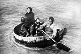 Chinese Family in a Washing Trough on the Yangtze River  1930
