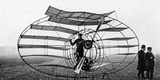 Flying Machine Built by Marquis D'Equeville  1909