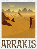 Arrakis Retro Travel