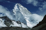 The North Face of K2 from K2 Glacier  2nd Highest Peak in the World  Karakoram  Xinjiang  China