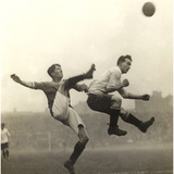 Moment from an English Soccer Match  1909