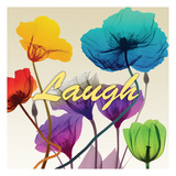 Floral Calm Pop Laugh