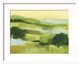 Emerald Wetlands II Reproduction encadrée par Ethan Harper