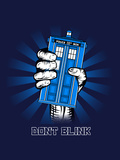 Don't Blink - Geek Propaganda Poster