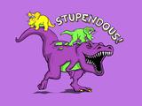 Stupendous - 90s Nostalgia Dinosaur