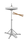 Hi-Hat Cymbals and Drumsticks  Percussion  Musical Instrument