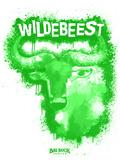Wildebeest Spray Paint Green