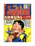 Archie Comics Retro: Jughead Annual Comic Book Cover No3 (Aged)