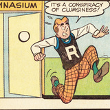 Archie Comics Retro: Archie Comic Panel; Conspiracy of Clumsiness (Aged)