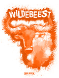 Wildebeest Spray Paint Orange