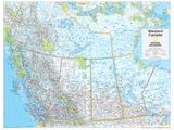 2014 Western Canada - National Geographic Atlas of the World  10th Edition