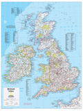 2014 British Isles - National Geographic Atlas of the World  10th Edition
