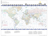 2014 Time Zones - National Geographic Atlas of the World  10th Edition