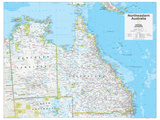 2014 Northeastern Australia - National Geographic Atlas of the World, 10th Edition Reproduction d'art