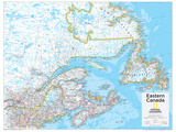 2014 Eastern Canada - National Geographic Atlas of the World  10th Edition