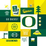 Oregon Ducks Collage