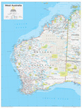 2014 West Australia - National Geographic Atlas of the World, 10th Edition Reproduction d'art